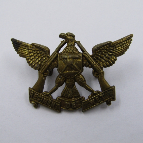 SADF Regiment De Wet collar badge
