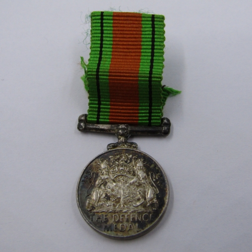 WW2 The Defence Medal miniature