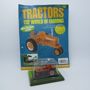 Hachette tractors issue 4 - 1945 Allis-Chalmers WC die-cast tractor - Scale 1/43