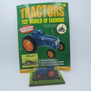 Hachette tractors issue 2 - 1958 Fordson Power major die-cast tractor - Scale 1/43