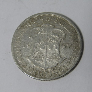 1937 South Africa Two Shilling
