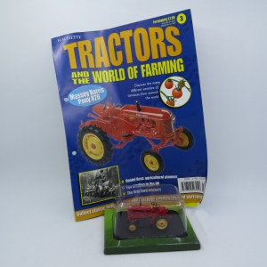 Hachette tractors issue 3 - 1957 Massey - Harris Pony 820 die-cast tractor - Scale 1/43