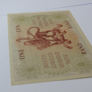 MH de Kock 4th Issue R1 banknote - Crisp Uncirculated