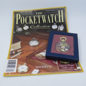 1900's Style Imperial Design quartz pocketwatch - Hachette pocketwatch collection #31 - Working