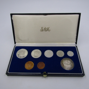 1987 RSA Short Proof set with Silver R1