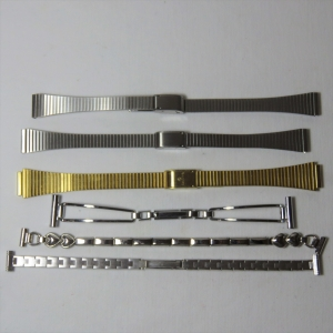 Lot of 6 vintage ladies watch straps