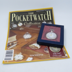 1910's Style The Ovid quartz pocketwatch - Hachette pocketwatch collection #6 - Working