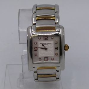 Frederique Constant Delight Carree ladies quartz watch - excellent working condition - FC220X2EC2