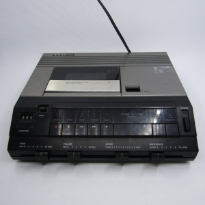 Sanyo TRC9010 memo-scriber Transcriber unit - working