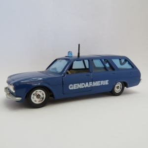 Solido Peugeot 504 Break Gendarmerie police car - Scale 1/43