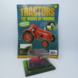 Hachette tractors issue 7 - 1949 David Brown Cropmaster die-cast tractor - Scale 1/43