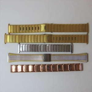 Lot of 5 vintage mens watch straps