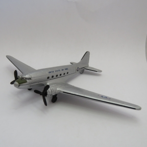 Road Champs DC-3 US Air Force die-cast model plane