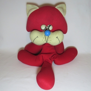 Hearty Doll Toho Bussan Red Cat