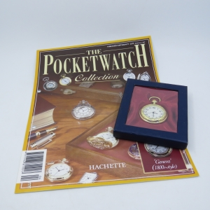 1800's Style Geneva Quartz pocketwatch - Hachette pocketwatch collection #4 - Working