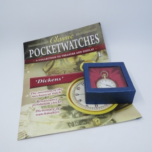 Classic Dickens Quartz pocketwatch - Hachette pocketwatch collection #1 - Working