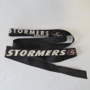 Pair of Stormers headbands/Cap Tallies - 80 cm and 96 cm