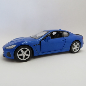 RMZ City 2018 Maserati Gran Turismo model car - Pull back action