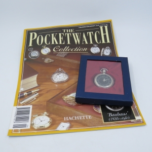 1920's Style Bauhaus quartz pocketwatch - Hachette pocketwatch collection #9 - Working